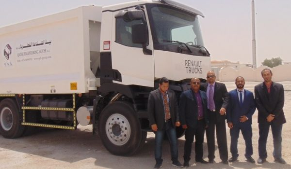 QEH Receives the New Compactor